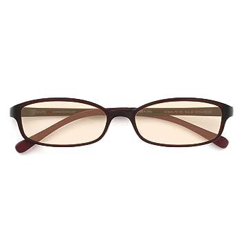 5f85ada9d09 Amazon.com  JINS PC Glasses Computer Eyewear Dark Brown (Light Brown ...