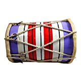 India Meets India Handmade Crafted Upto 7 Years Kids Playing Dholak (Size:- Upto 7 Inch)