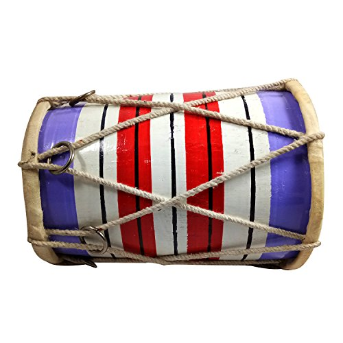 India Meets India Handmade Crafted Upto 7 Years Kids Playing Dholak (Size:- Upto 7 Inch) by India Meets India