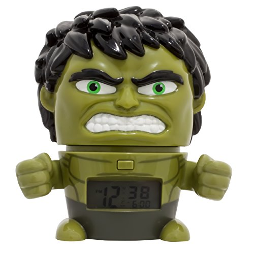 Bulb Botz Infinity War Night Light Marvel Avengers Hulk Alarm Clock]()