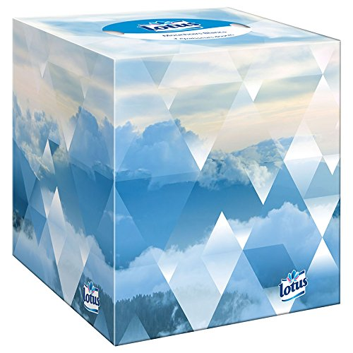 4/ Boxes Lotus Handkerchiefs Cube Box 48/ Packs Per Box