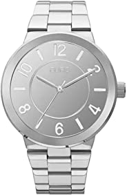 Relógio Euro Feminino Espelhado - PRATA