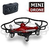 Luxon Mini Drone RC Quadcopter 4 Channels (Red)