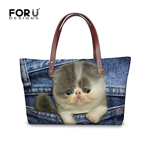 W8ccc1769al Handle Women Shopping Top Handbags Shoulder FancyPrint Bags Satchel nFPUHP8x