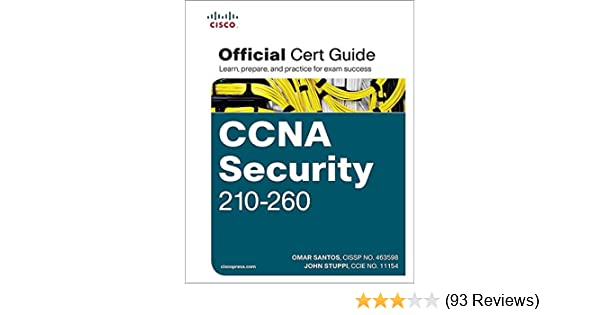 Amazon com: CCNA Security 210-260 Official Cert Guide: CCNA Sec 210