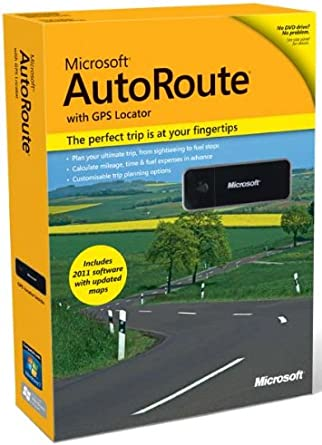 Microsoft Autoroute 2011 Europe Cheap License