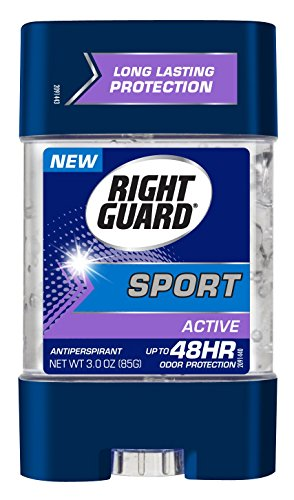 Clear Cool Gel Wave - Right Guard Sport Antiperspirant Gel, Active, 3 Ounces (Pack of 6)