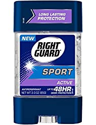 Right Guard Sport Antiperspirant Gel, Active, 3 Ounces...