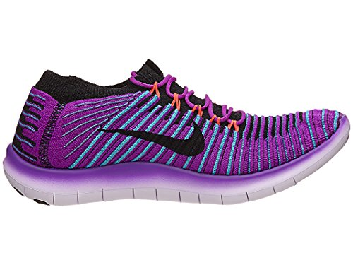 Nike Femmes Libres De Mouvement-hyper Violet / Noir-gamma Bleu-10.5
