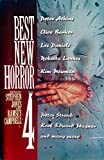 img - for Best New Horror 4 (Mammoth Book of Best New Horror) book / textbook / text book
