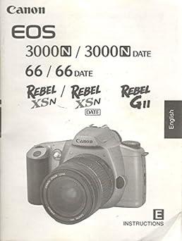 canon eos 3000 n 66 date rebel xsn camera english edition rh amazon com