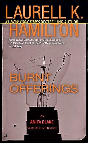 amazon burnt offerings an anita blake vampire hunter novel