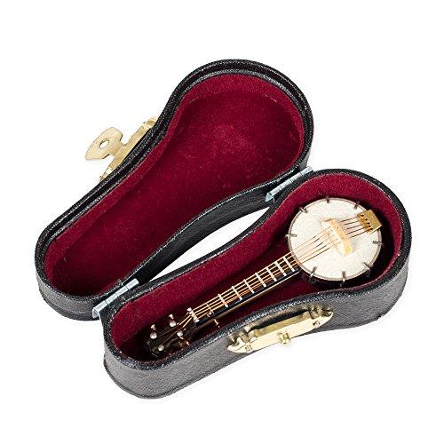 (Miniature Banjo w/ Case 3