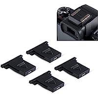 4Pcs Dedicated Camera Hot Shoe Cover Protector Cap for Canon EOS R 1DX 5DS 5DSR 5DM4 5DM3 6D 6DM2 7D 7DM2 80D 77D 70D…