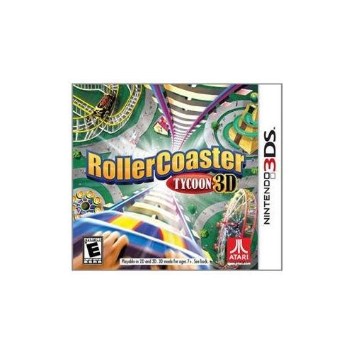 Rollercoaster Tycoon - 3ds Roller Coaster