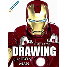 Clip: Time Lapse Drawing of Iron Man