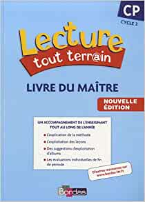 lecture tout terrain cp french edition 9782047326398 books. Black Bedroom Furniture Sets. Home Design Ideas