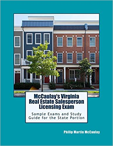 Amazon mccaulays virginia real estate salesperson licensing amazon mccaulays virginia real estate salesperson licensing exam sample exams and study guide for the state portion ebook philip martin mccaulay fandeluxe Image collections