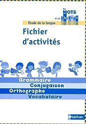 Etude de la langue CE1 cycle 2 : Fichier d'activités