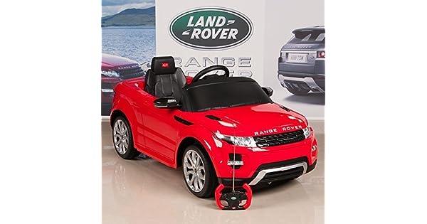 Amazon.com: Auto de manejo c/control remoto, Range Rover ...