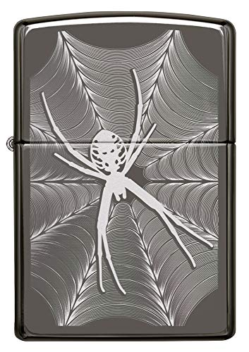 Zippo Spider & Web Design Pocket Lighter ()