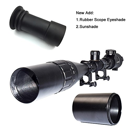 Review [UPDATE] Feyachi Tactical 8-32×50 AOEG Rifle Scope for Hunting Dual Red & Green Illuminated Optics Weaver/P-i-c-a-t-i-n-n-y scope