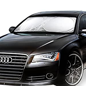 M-SUN Windshield Sunshade-A Powerful UV Ray Deflector-Cool And Protect Car(Standard 5927inches)