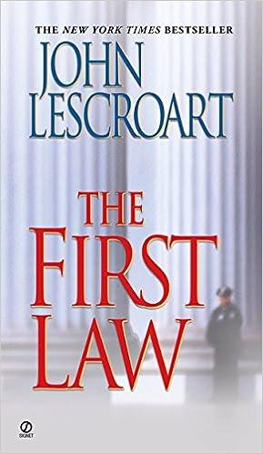 Amazon The First Law Dismas Hardy Book 8 9780451210227 John Lescroart Books