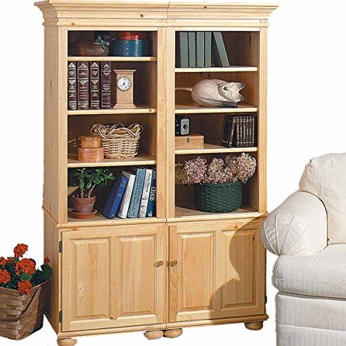 Bookcase Unfinished Pine Wentworth Kit 65