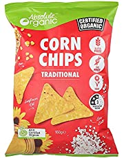 Absolute Organic Traditional Corn Chips, 160 g