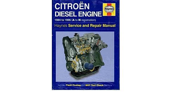 citroen 1 7 and 1 9 litre diesel engine service and repair manual rh amazon com Citroen SM Engine Citroen SM Engine