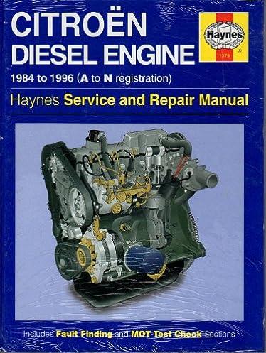 citroen 1 7 and 1 9 litre diesel engine service and repair manual rh amazon com Citroen GSA Engine Citroen 2 Chevaux