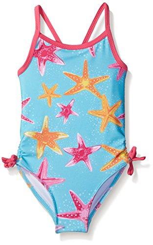 Nautica Sportswear Girls Starfish Swimsuit