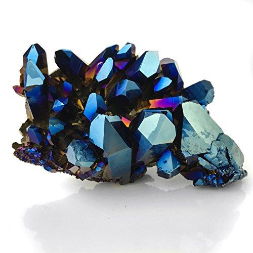 Cobalt Aura Quartz (Crystal Ca3)