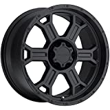 Vision Raptor 20 Matte Black Wheel / Rim 6x135 with a 25mm Offset and a 87.1 Hub Bore. Partnumber 372-2936MB25