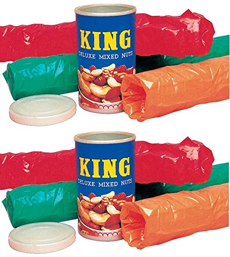 Loftus Three Snakes in a Can - King Deluxe Mixed Nuts Prank (2 Pack)