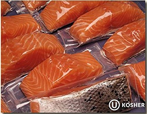 8 X 6 Oz. Fresh Atlantic Salmon Portions, Individually Vacuum Packed, Ready to Cook.