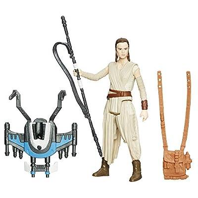 Star Wars The Force Awakens 3.75-Inch Figure Snow Mission Rey (Starkiller Base)