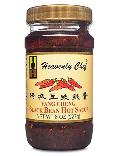 (Heavenly Chef Black Bean Hot Sauce, 8oz)