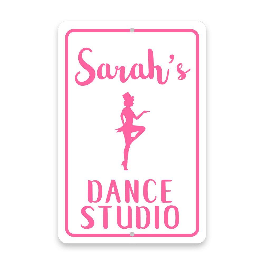 Personalized Tap Dance Studio Metal Room Sign