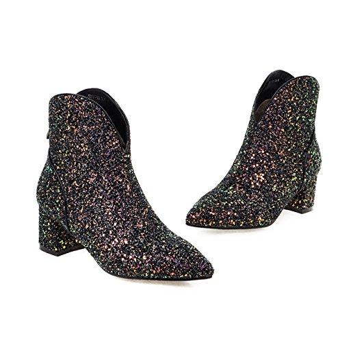 YL Women's Boots black black Black Mv5Yc342p