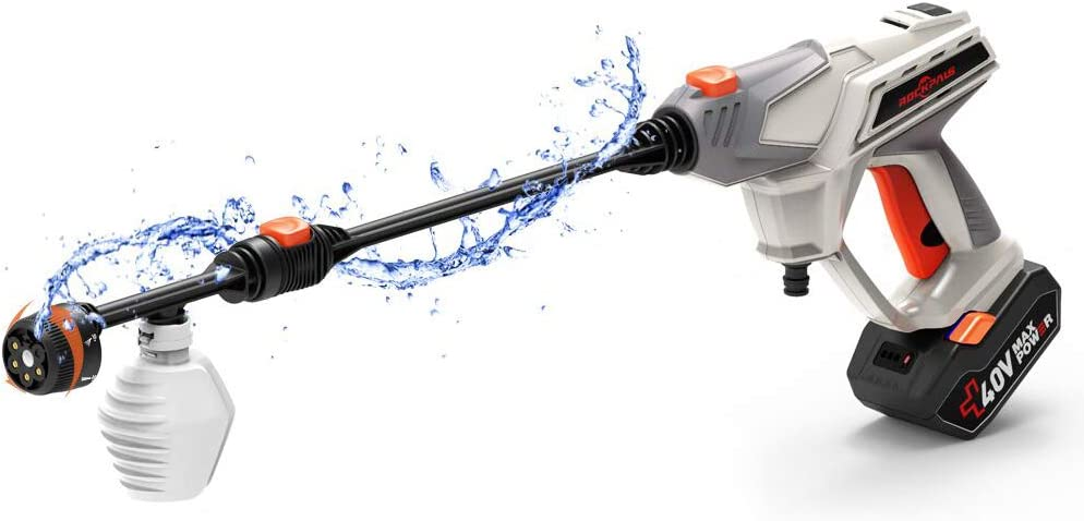 ROCKPALS Cordless Pressure Washer