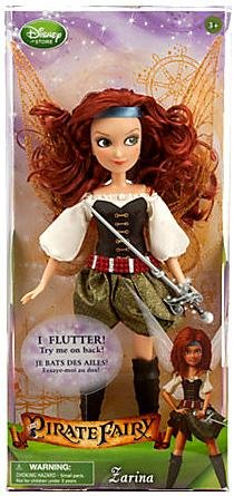 The Pirate Fairy Zarina (Disney The Pirate Fairy Exclusive 10 Inch Doll Zarina)