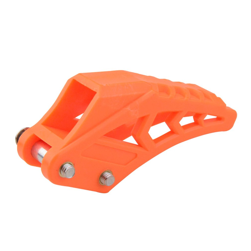 GOOFIT 420# 428# Chain Guide Chain Guard Fit for CRF 250 R EXC CRF YZF KXF KTMX for BSE Bosuer Dirt Bike Pit Bike Red