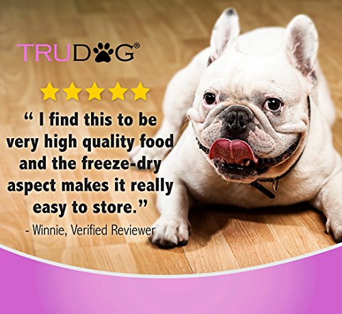 Real Meat Organic Dog Food-Feed Me: Freeze Dried Raw Superfood for Optimal Canine Health and Natural Longevity - All Natural - Balanced Nutrition - No Filters, No Grain - Just Add Water (Turkey, 14oz) by TruDog (Image #4)'