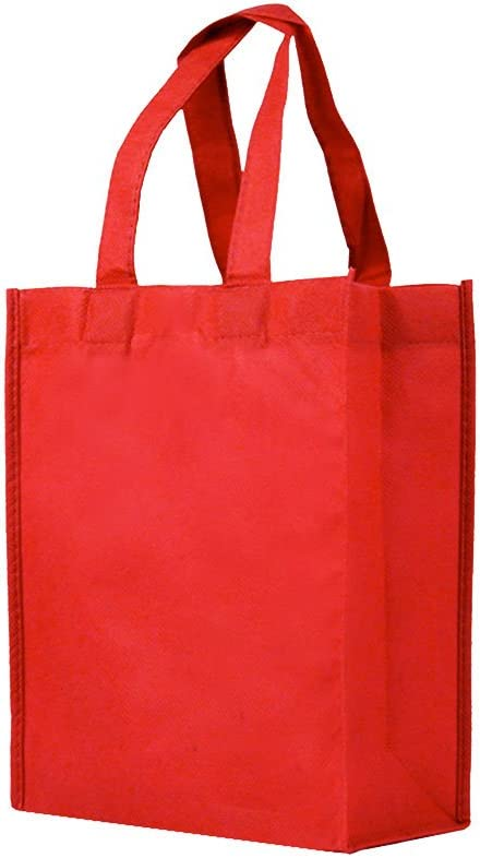 Trinket Bag Fully lined with a Red Satin Drawstring Reusable Gift Bag Eco Bag Fabric Gift Bag Happy Chickens Red