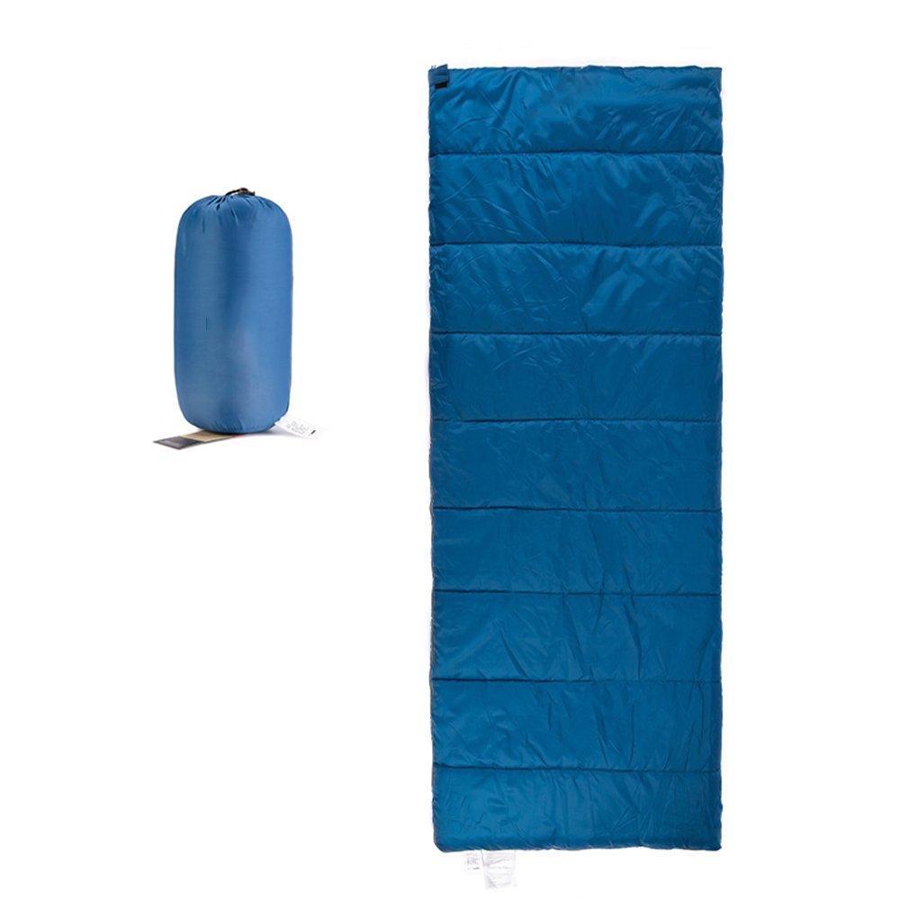 QFFL shuidai Erwachsene Schlafsack Outdoor Herbst Reise Camping Warme Schlafsack Indoor Ultra Licht Tragbare Baumwolle Schlafsack