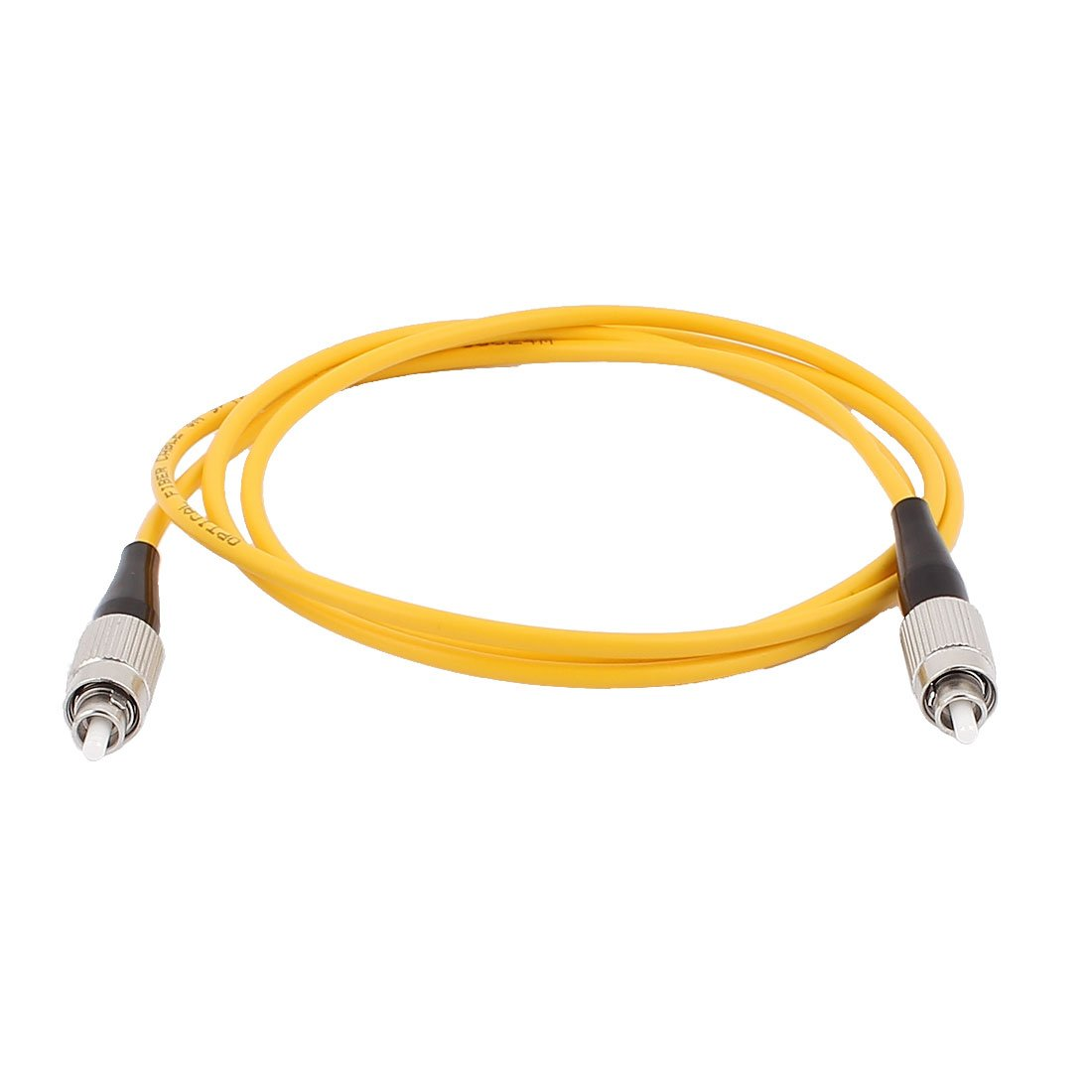 sourcingmap® 1M Single-mode Fibre Jumper Wire FC-FC Optical Fiber Patch Cable SM SX a15111200ux0099