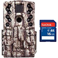 Moultrie Low Glow 12 MP Mini A20 Long Range Infrared Trail Game Camera + SD Card