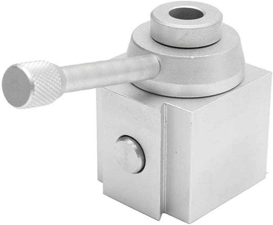 LKK-KK Tool Lathe Quick Mini Change Multifid Tool Post and Holder Kit for Lathe Processing Multifunction